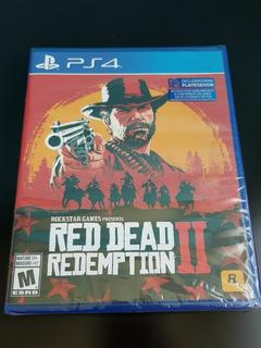 Red Dead Redemption 2 En Ps4 Nuevo Y Sellado.