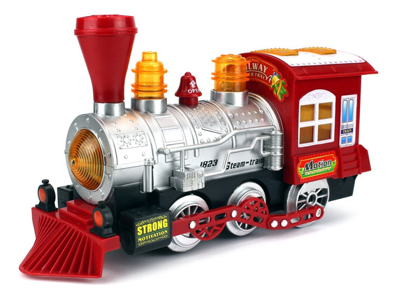 Velocity Toys Tren De Vapor Locomotora Motor Coche Burbuja B