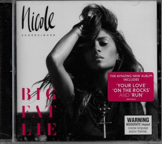 Cd Big Fat Lie Nicole Scherzinger Original Lacrado Pop Saldo
