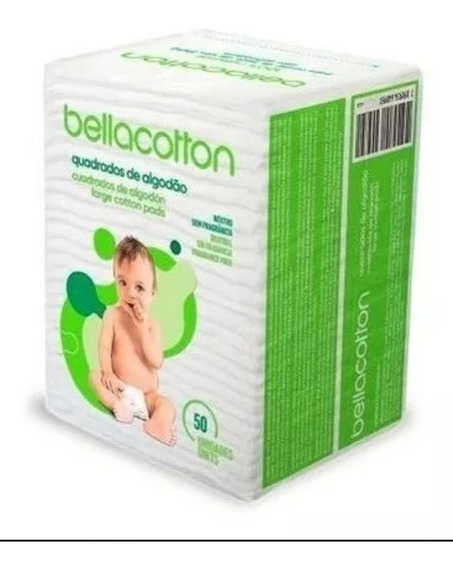 Algodão Quadrado Maxi Bebê Bellacotton