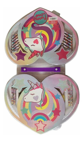 Unicornio Set De Arte 56 Piezas Ck009 C/licencia Original