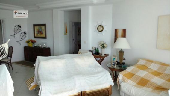 Apartamento A Venda No Bairro Enseada Em Guarujá - Sp. - 122-1