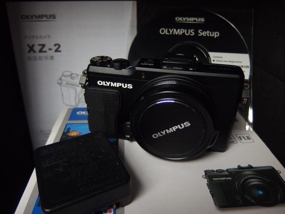 Olympus Xz-2 Xz2 F/1.8 Com Caixa E Manual