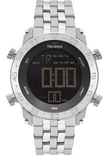 Relógio Technos Masculino Digi-ana Prata Bjk006ab/1p