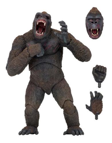 King Kong Figura Articulada De Coleccion Neca De Lujo