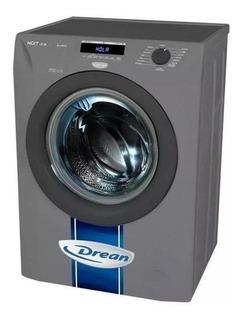 Lavarropas automático Drean Next 8.14 P ECO gris 8kg 220V