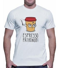Camiseta Espresso Patronum Harry Potter Hogwarts Nerd 3741