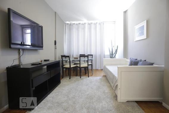 Apartamento No 1º Andar Com 1 Dormitório - Id: 892968891 - 268891