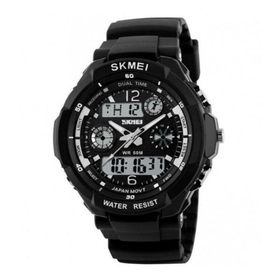 Relógio Digital S-shock Analógico + Brinde