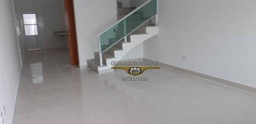 Sobrado Com 3 Dormitórios À Venda, 115 M² Por R$ 550.000,00 - Jardim Vila Formosa - São Paulo/sp - So1429