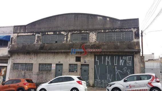 Galpão Comercial Para Locação, Vila Formosa, São Paulo. - Ga0199