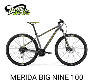 Bicicleta Mtb Merida Big Nine 100-d