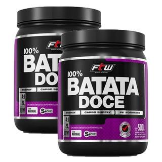 Batata Doce Em Pó - 500 Gramas (2 Unidades) - Fitoway