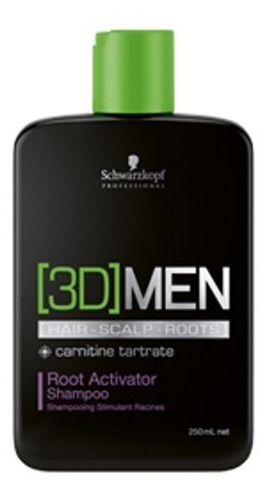 3d Men Shampo Root Activator  250ml Sch - mL a $211