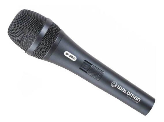 Microfone Profissional Waldman Stage S-350 - Nf E Gtia