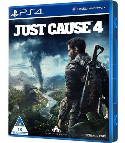 Game Just Cause 4 - Ps4 (usado)