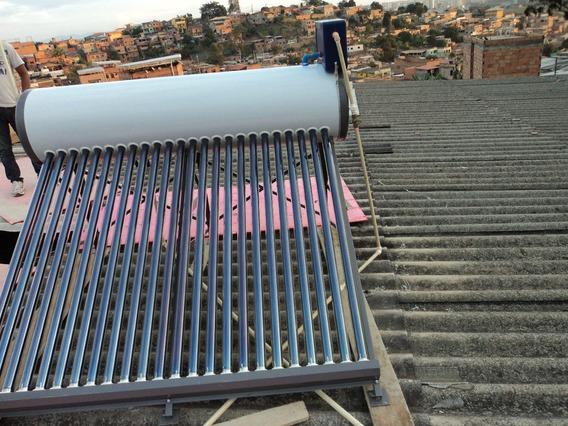 Aquecedor Solar Vacuo 30 Tubos Acoplados 300 Litros