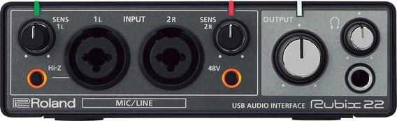 Interface De Audio Roland Rubix 22 Mac/pc/iPad