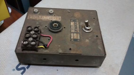 Pré Amplificador Phono Valvulado Philips Da Vitrola Fr831