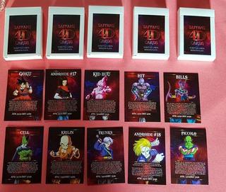 Cartas De Dragon Ball Con Realidad Aumentada
