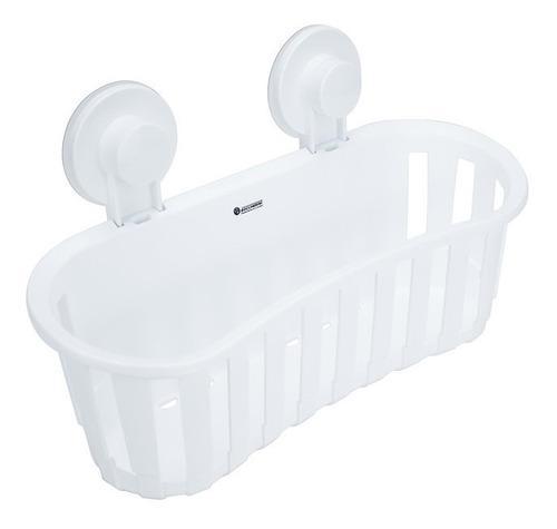 Imagen 1 de 1 de Organizador De Baño Sencillo Ventosa