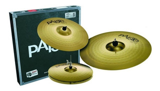 Set Platillos Paiste Universal Set Hh 14 Crash 16 Ride 20