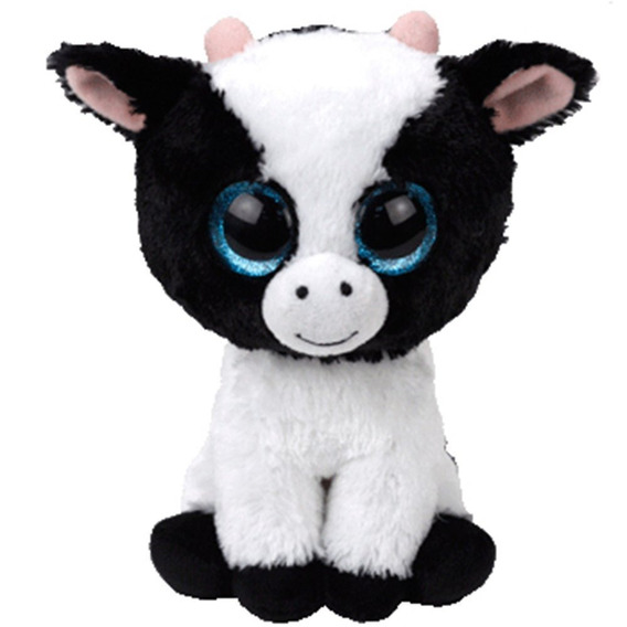 Beanie Boos - Butter Vaca Branca E Preta