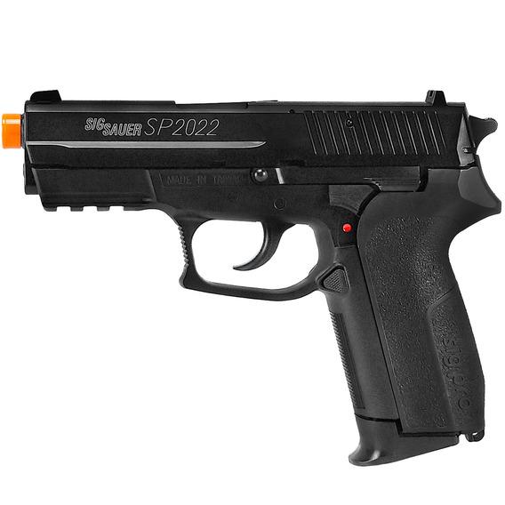 Pistola De Airsoft Spring Sig Sauer Sp2022 Heavy 6mm - Cybergun