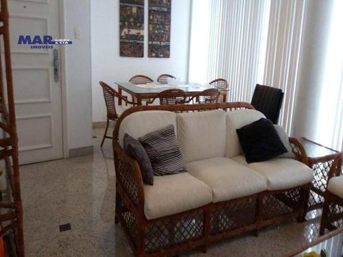 Imagem 1 de 9 de Apartamento Residencial À Venda, Vila Maia, Guarujá - . - Ap8253