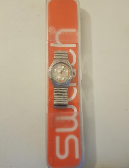 Relógio Swatch Ycs492 Pulseira Elástica Metálica