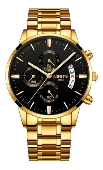Relógio Nibosi Cronógrafo Funcional Masculino 2309