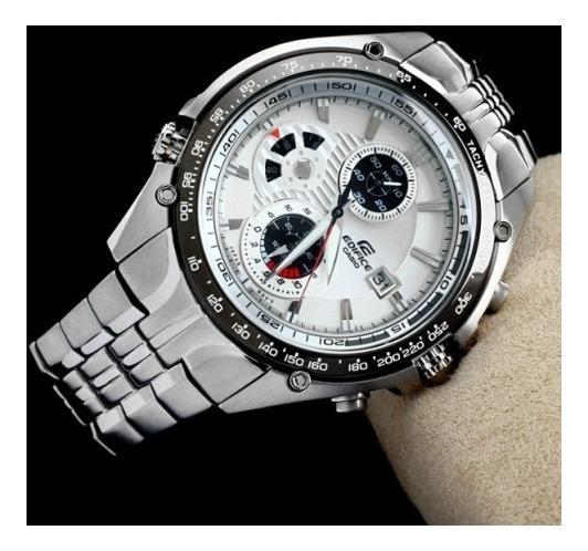 Relógio Casio Edifice Ef-543d-7av Fundo Branco