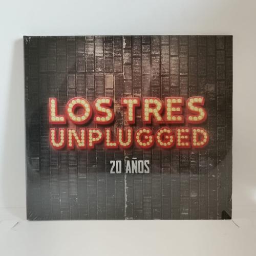Los Tres Unplugged 20 Años Cd Nuevo Musicovinyl