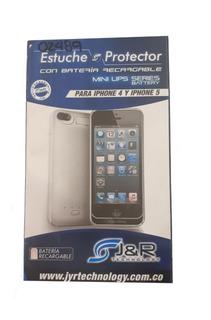 Estuche Protector Con Batería Recargable