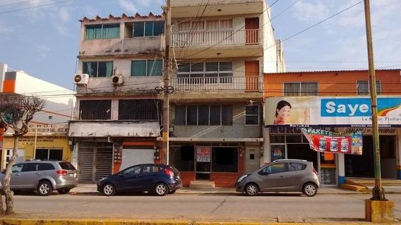Venta De Edificio Residencial Y Comercial, Zona Centro, Coatzacoalcos,