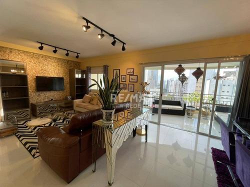 Imagem 1 de 11 de Apartamento Com 2 Dormitórios Para Alugar, 126 M² Por R$ 10.485,00/mês - Moema - São Paulo/sp - Ap3780