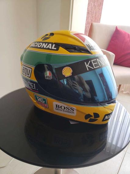Capacete Agv K3 Personalizado Senna