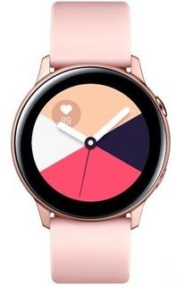 Samsung Galaxy Watch Active Rose Gold Lacrado *sem Nf.