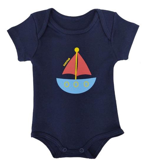 Body Infantil Bebê Várias Cores Malha 100% Algodão Katitus