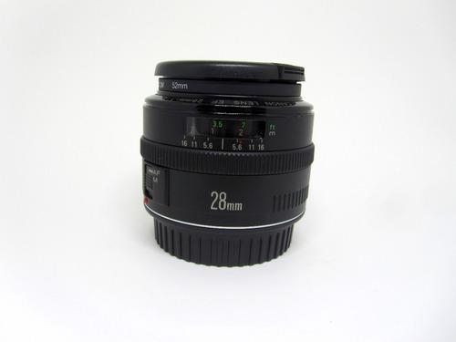 Objetiva Canon Ef 28mm F2.8.  Ler Bem O Anuncio.