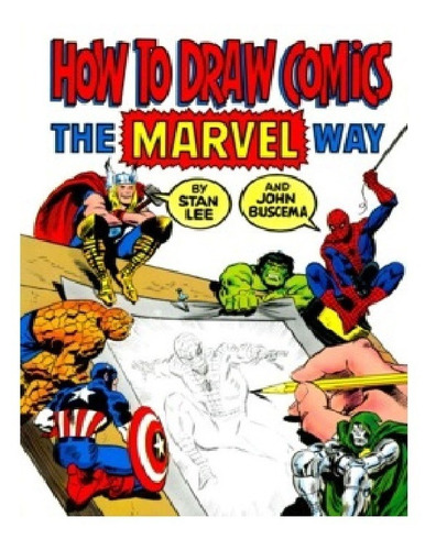 Imagen 1 de 1 de Libros-minipack De Cursos Para Aprender A Dibujar Cómics
