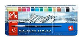Arte Creativo Materiales Caran D Ache Gouache Studio 15 Sart