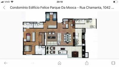 Apartamento Com 3 Suítes, Sacada Gourmet, 2 Vagas