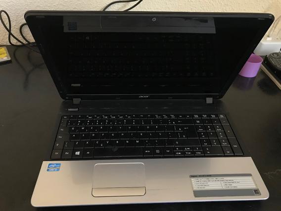 Notebook Acer Aspire E1-571-6448 Não Liga