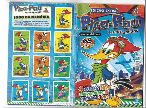 Pica Pau E Seus Amigos Extra Nº 10 Tudo Pizza( Deomar-2013)