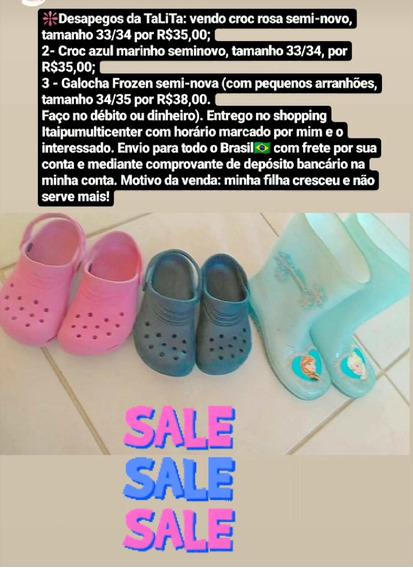 Vendo Estes Três Sapatos Infantis