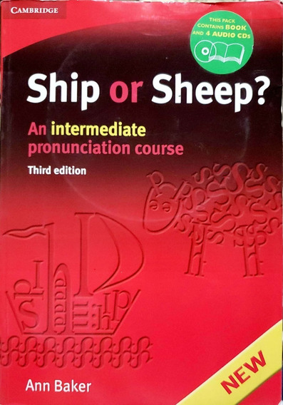 Livro Ship Or Sheep? Intermediate Pronunciation Course B3050