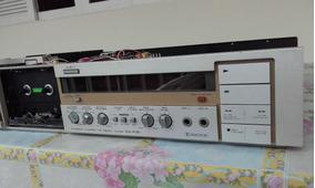 Tape Deck Akai Gx F31 Sucata 02