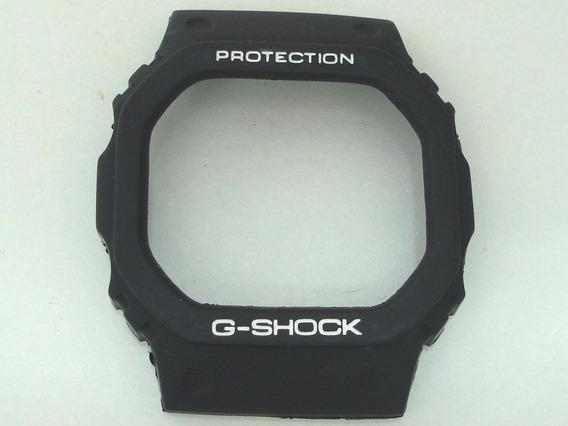 Capa Casio G-shock Dw-5600 Dw-5000 Fundo Rosca - Série Prata