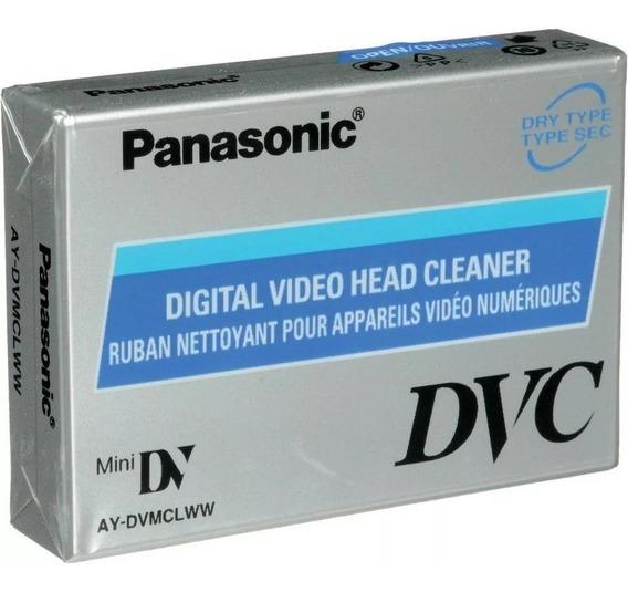 Fita De Limpeza Mini Dv Panasonic Ay-dvmclc Frete Grátis